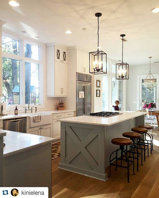 No, you're not dreaming. This kitchen is real. This is real life. This is for reals. (@kinielena, thanks for making our Hadley Pendants look like a million bucks.)