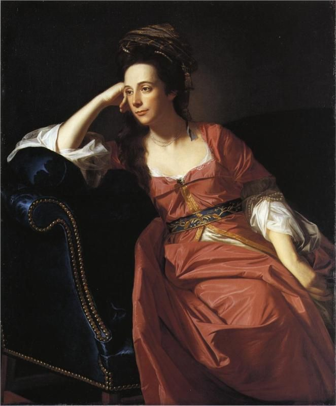 Mrs. Thomas Gage - John Singleton Copley - 1771