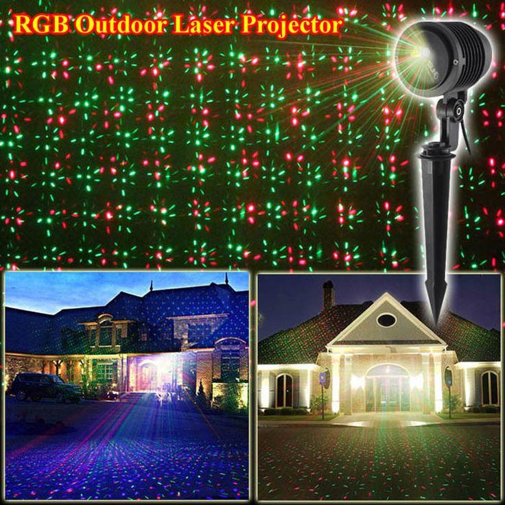 Comprar rgb laser ilda luz para el jard n for Luz led exterior jardin