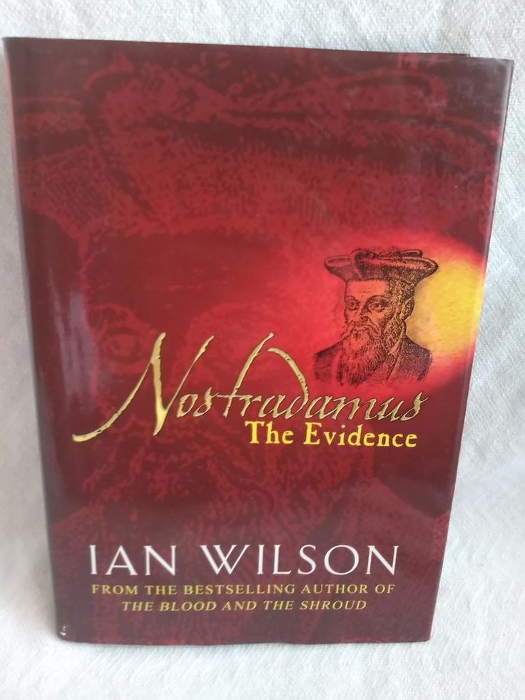 $4.96 or best offer Nostradamus: The Evidence By Ian Wilson Hardback