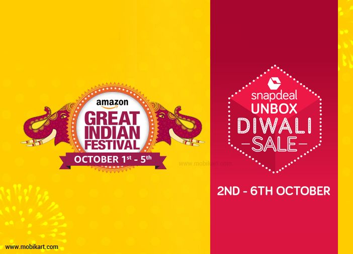 Best Smartphone Deals from Amazon and Snapdeal Festival Sales