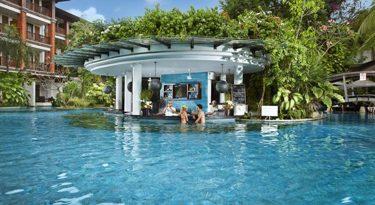 Padma Resort Legian swim up bars bali kids guide