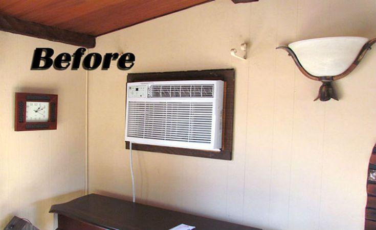 Esconda o ar condicionado de forma criativa