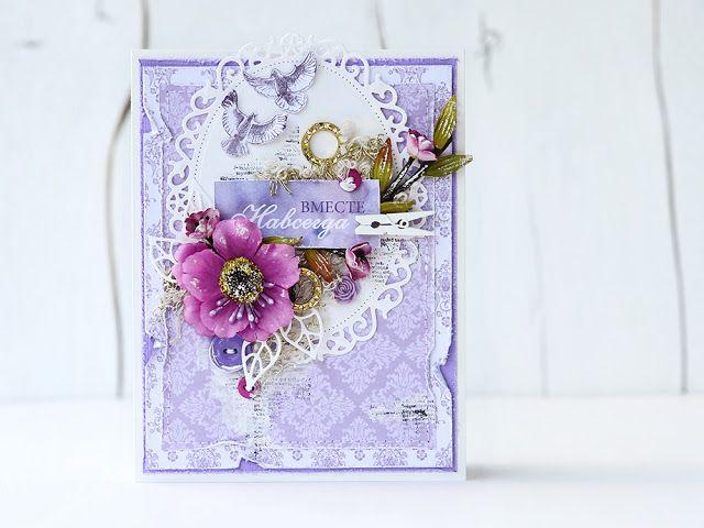 By Ekaterina_Ko: Цветочные открытки/Floral cards