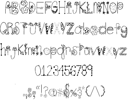 Spring Time font by Letters for Lives - FontSpace