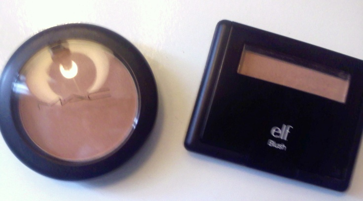 MAC Margin Blush Dupe !! | ELF Peachy Keen