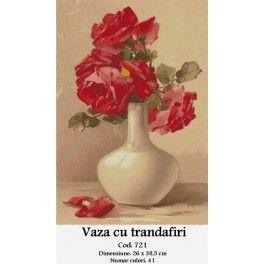 Vaza cu Trandafiri