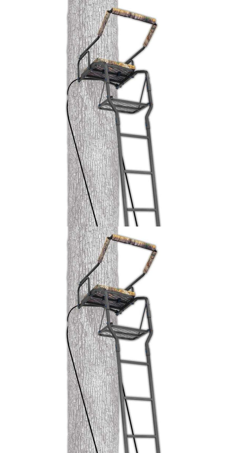 Tree Stands 52508: New Ameristep 16 Recon Ladderstand Tree Stand Climbing Harness Hunting Treestand BUY IT NOW ONLY: $92.46