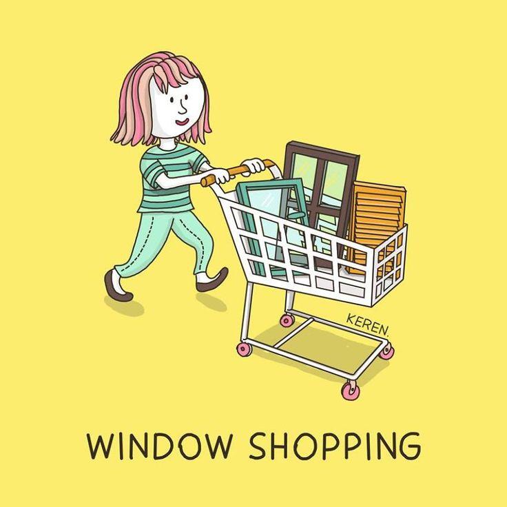 6.Window shopping