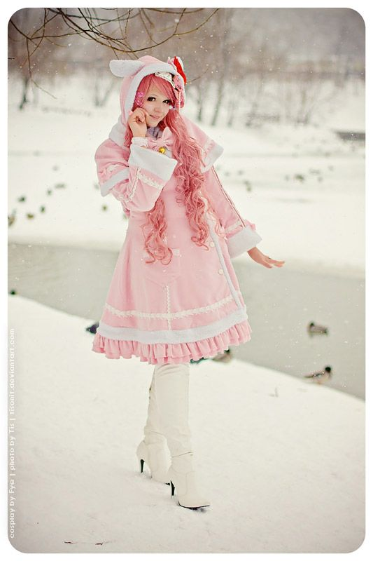 Winter Lolita by TaisiaFlyagina.deviantart.com on @deviantART