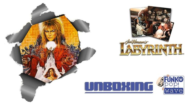 Unboxing de los Funko Pop! de la película Labyrinth (Dentro del laberinto)