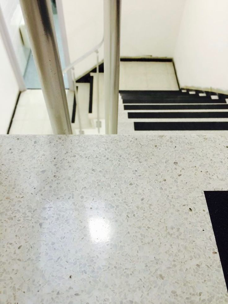 Terrazzo stair polishing Brighton East Sussex