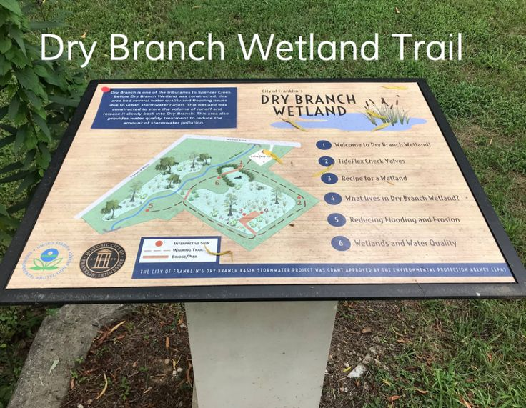 Dry branch wetland trail parks paths and trails in