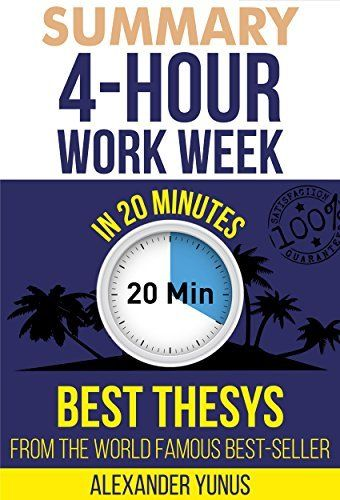 4 hour work week summary pdf