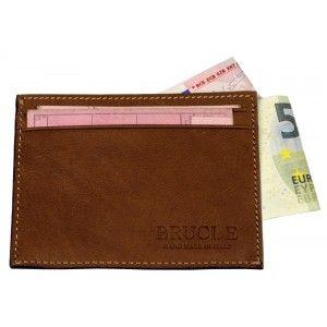 Brucle porta carte di credito tricolor
