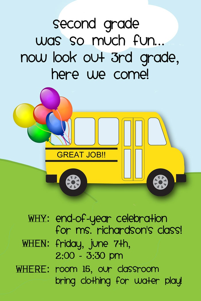 b980286082920c651f80434d02c40020 abc school beginning of school 237 best summer crafts summer activities end of school year images,End Of Year Party Invitation Wording