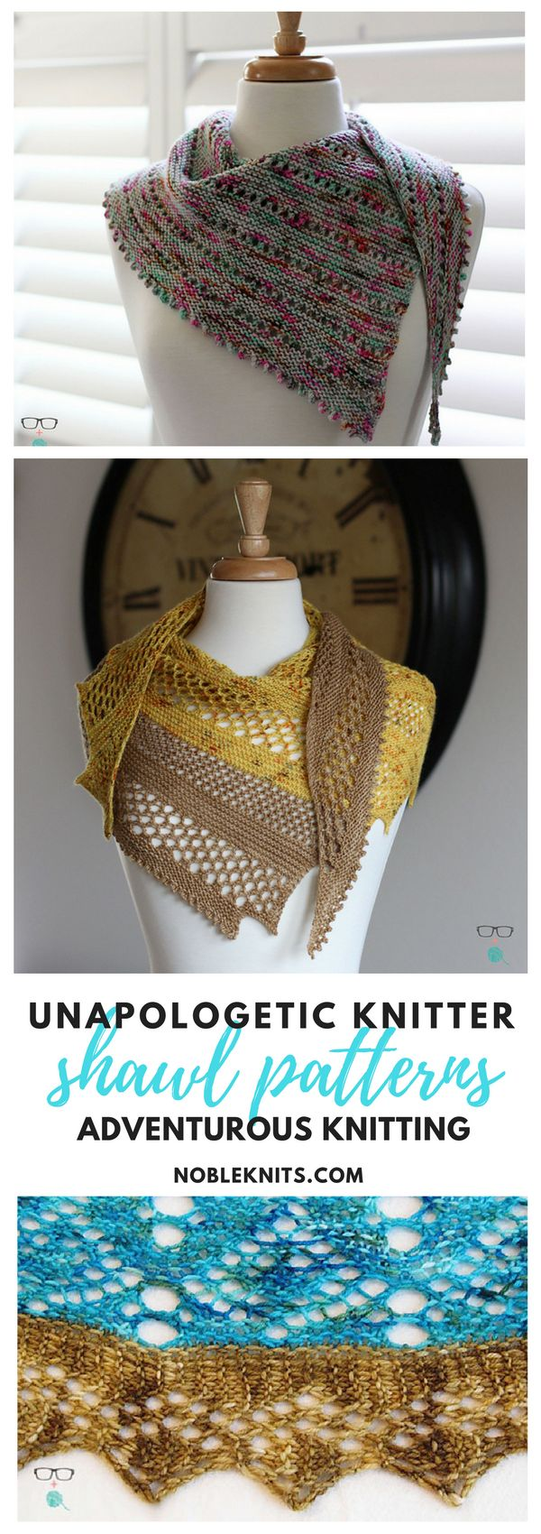 181 best shawl and wrap knitting patterns images on pinterest adventurous shawl knitting patterns from unapologetic knitter nobleknits bankloansurffo Image collections
