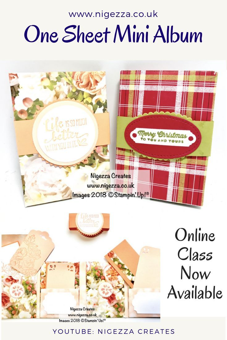 Online Class Available For This One Sheet Mini Album Click For