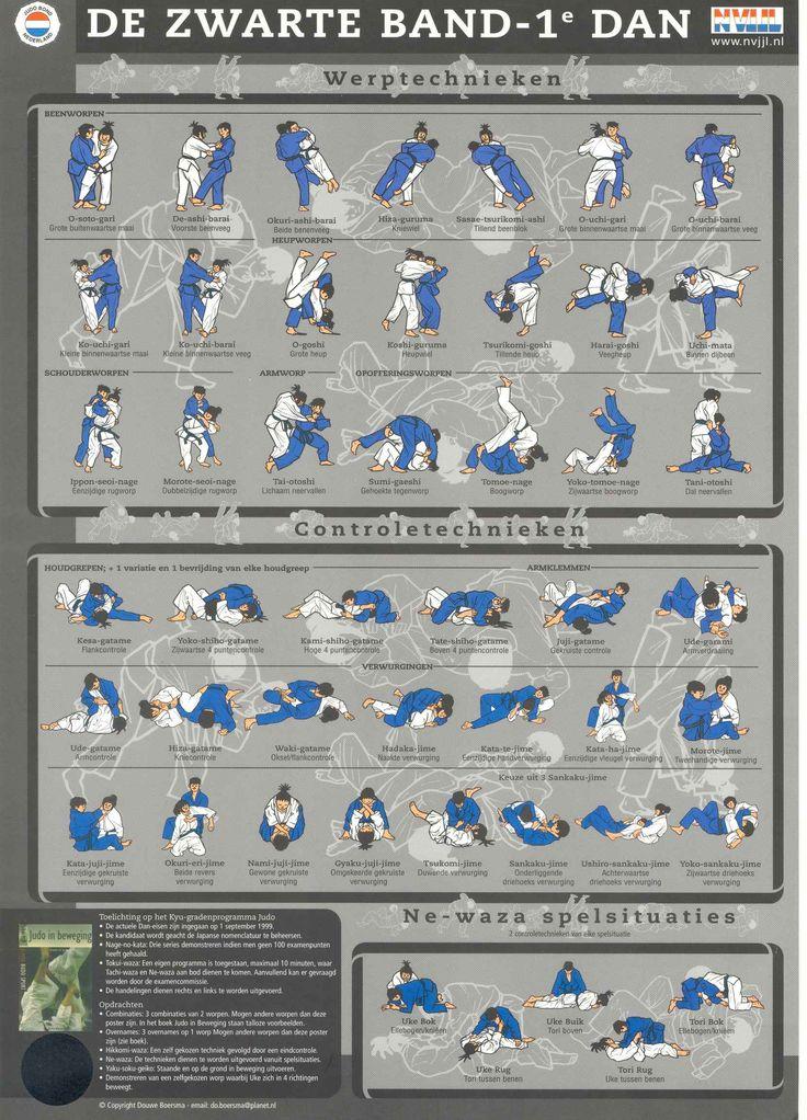 Zwarte Band-Judotechnieken | Paul Thomas