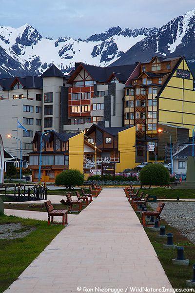 Ushuaia. La ciudad más austral del mundo, capital de la provincia de Tierra del Fuego.