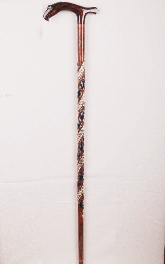 Handmade Turkish DEVREK Cane