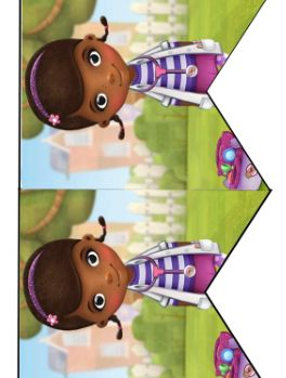 Doc Mc Stuffins Birthday Party Printable Files