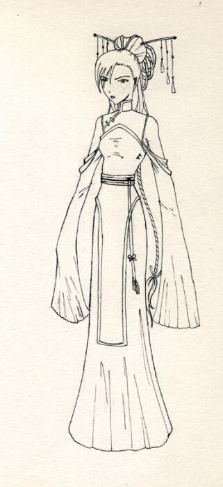 Манга. Учимся рисовать японские костюмы
