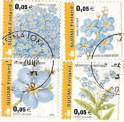 Stamps from Finland