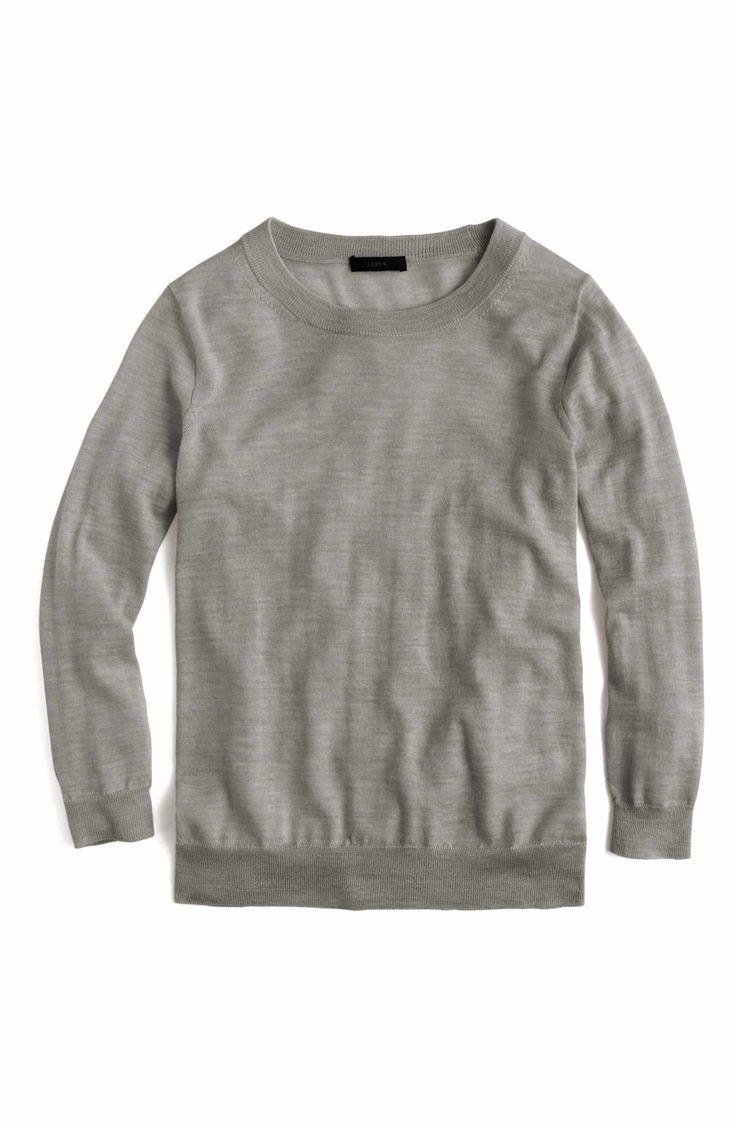 Main Image - J.Crew Tippi Merino Wool Sweater
