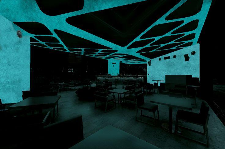 Reštaurácia -  MAGIC LIGHT - fosforujúci náter