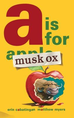 Musk Ox takes over an alphabet book, explaining to his friend Zebra why almost every letter can be used to describe musk oxen.