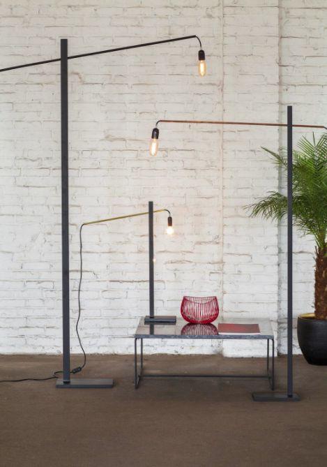 Staande leeslamp Flamingo van Antonino Sciortino