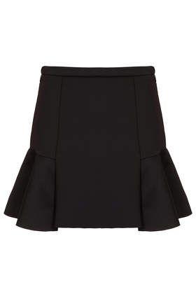 Topshop flare skirt