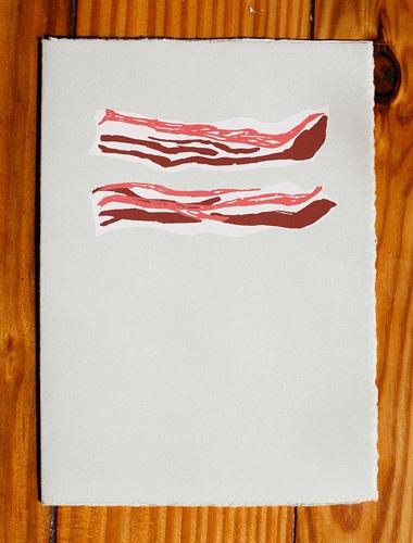 bacon card by gold teeth brooklyn