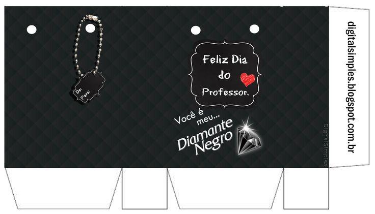 Sacolinha Lembrancinha Diamante Negro
