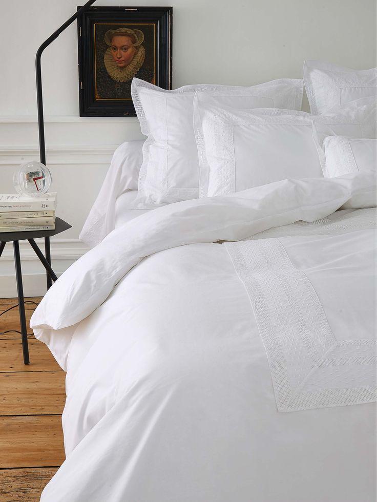 Les 13 meilleures images du tableau linge de lit sur for Housses de couette blanche