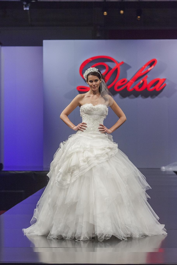 Delsa Couture collection - D6525