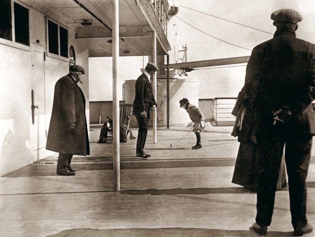 Jump on board the RMS Titanic! These photos taken aboard the ill-fated ship have been digitalized for the first time. In honor of the 100th anniversary of the sinking of the Titanic, take a walk on board the ship ...