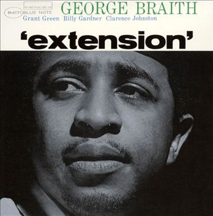 The Great African-American Classical Art-Form  George Braith -Extension Label: Blue Note – BLP 4171 Format: Vinyl, LP, Album, Mono, Microgroove   Pushing to the side the double sax that became his trademark, George Braith turned in his strongest record with Extension. Largely freed from the restraints of the dueling horns, Braith is able to explore the outer reaches of his music. He still remains grounded read more @ https://www.facebook.com/rashid212