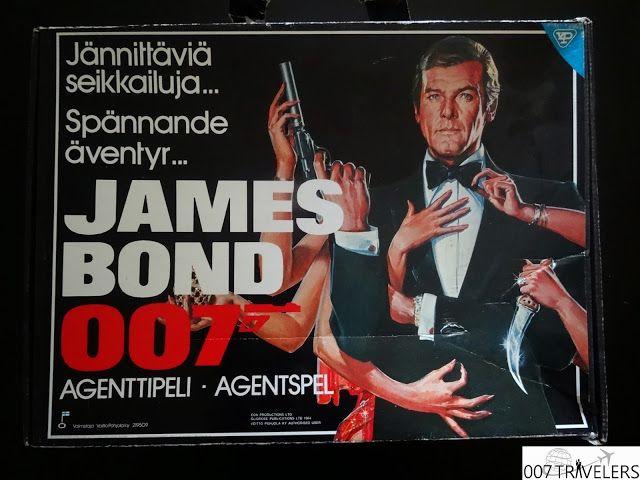 007 TRAVELERS: 007 Item: James Bond agenttipeli - agentspel - boa...