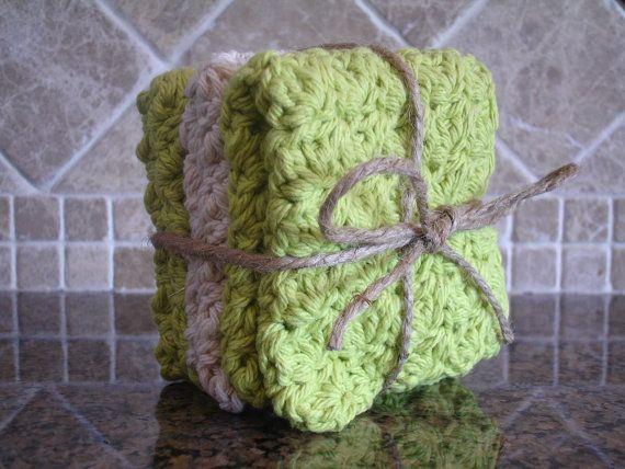Handmade Crochet Wash Cloths
