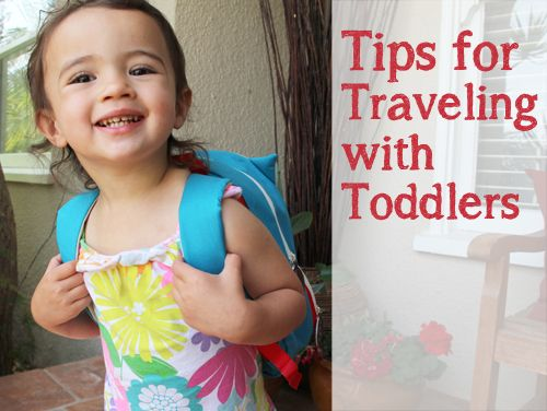 Tips for Traveling with Toddlers : PepperDesignBlog.com