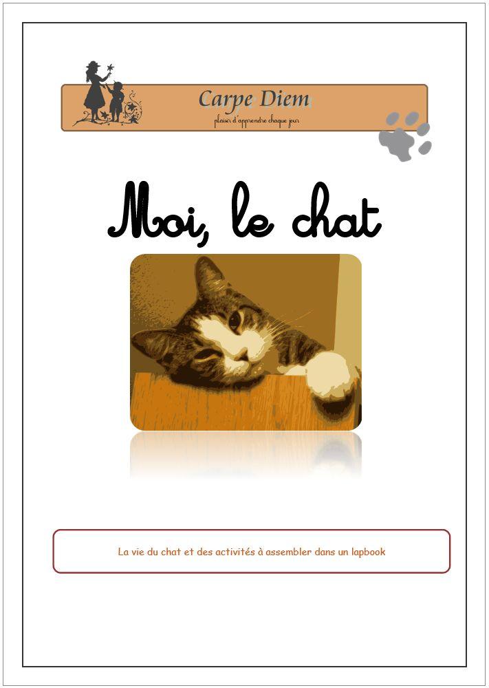 Moi, le chat - 400 millions de chats vivent dans le monde ! 8 millions sont accueillis dans 1 foyer français sur 4 ! Depuis la nuit des temps, le chat a été vénéré, apprécié mais aussi craint et chassé.  Les poètes l'ont chanté, les peintres l'ont dessiné, la télévision et le cinéma ont fait de lui une star.  www.carpediem.asso.fr