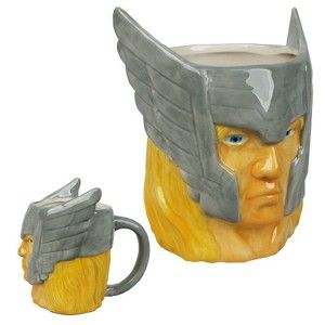 Thor Marvel Molded Mugs