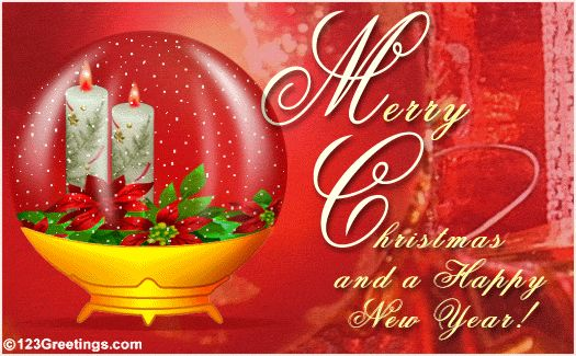 christmas and new year wishes | Merry Christmas And A Happy New Year...