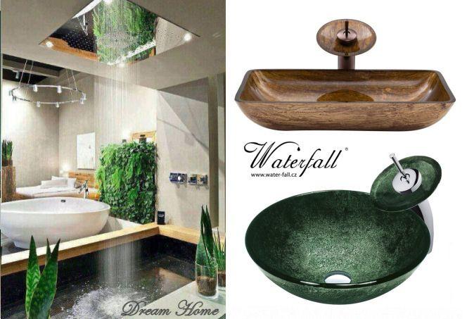 Designová umyvadla http://www.waterfall-products.cz/672-umyvadlove-sety a http://www.water-fall.cz/cz/koupelnove-baterie-luxusni-kuchynske/umyvadla-sety/