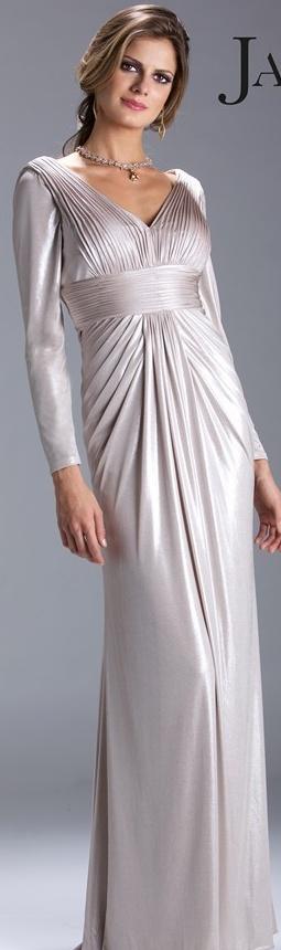Janique Couture #long #dress