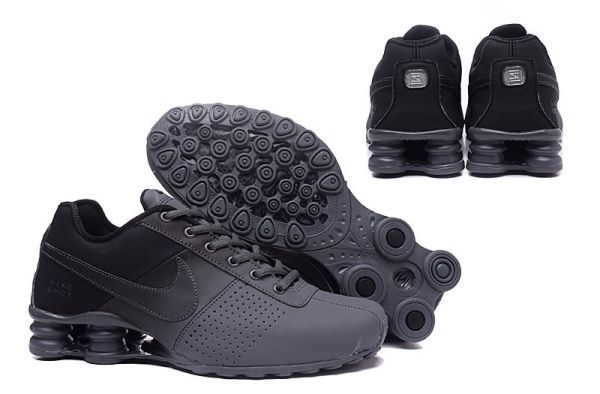 Nike Shox Deliver Men shoes Black Carbon Gray
