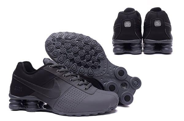 Nike Shox Deliver Men shoes Black Carbon Gray