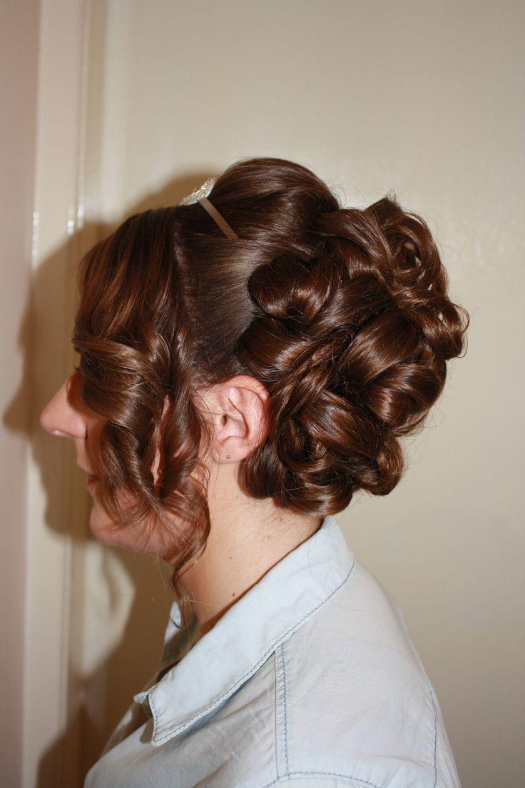 Hair Up By Www Kukispa In York Wedding Inspiration